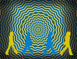 27092017: Abbey Road Parody optical illusion