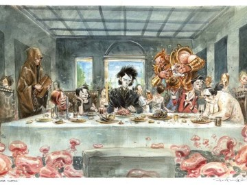 last supper parody: The Endless Supper