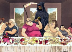 last supper fat
