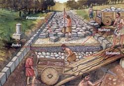 23012018: Le strade romane sono piene di buche, secoli fa erano fatte meglio e ancora esistono