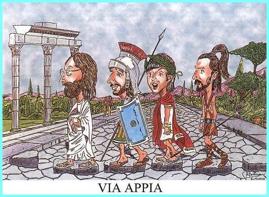 abbey road parody via appia