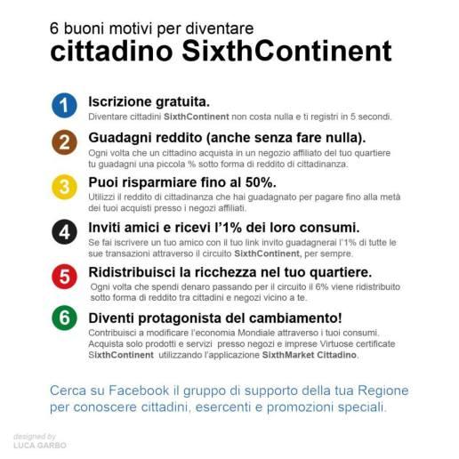 Cos'è e come funziona sixthcontinent