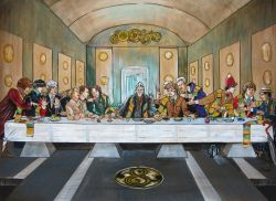 16022018: Ultima cena: Last supper doctor who