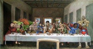last_supper_street_fighters