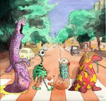 abbey road Aliens