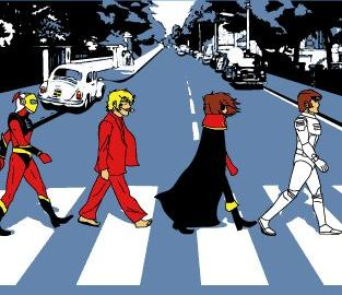 abbey road cartoon 80