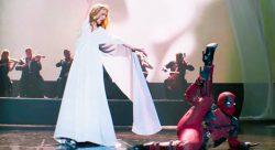 16052018: Deadpool a ballando con le stelle, ma nel video dove balla, Deadpool non è lui