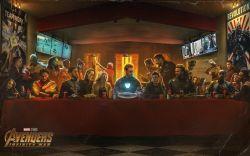18052018: ultima cena last supper avengers infinity war