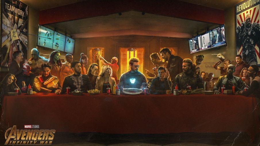 last supper avengers infinity war