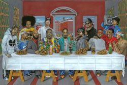 31082018: #lastsupper ultima cena hip hop #31agosto