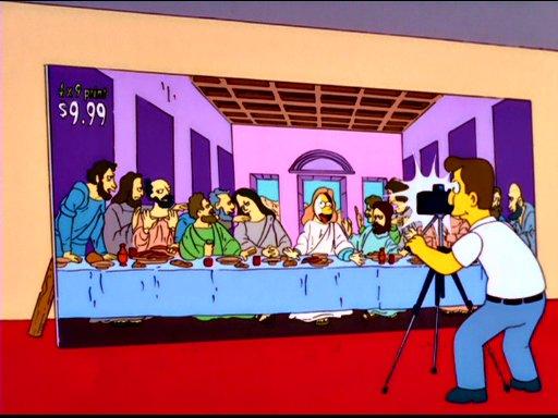 lastsupper #simpson