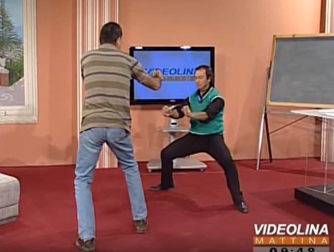 Il maestro Pandolfi e la difesa personale #difesa #personale #artimarziali
