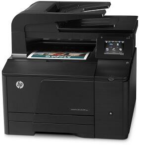 HP LaserJet Pro 200 M276n Clr MFP Prntr