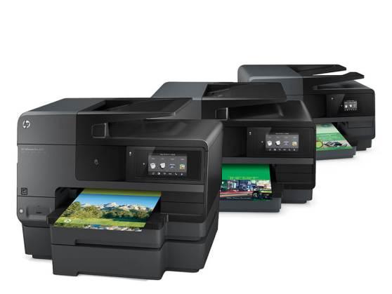 Die 3 neuen HP OfficeJet Pro 8600-Drucker