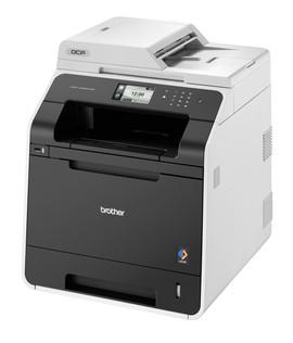 Der DCP-L8400CDN kann auch scannen und kopieren