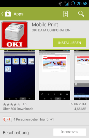OKI Android App