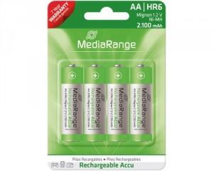 4 AA-Akkus von Mediarange für nur 4,99 Euro
