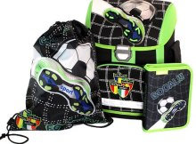 So ein komplettes Schulranzenset im coolen Fußballdesign - gibts diese Woche bei TONERDUMPING zu gewinnen.
