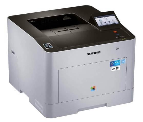 Schlicht und mit großem Touch-Display: Der Samsung ProXpress-C2620DW
