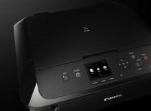Der Canon PIXMA MG5750 sieht in schwarz sehr nett aus.