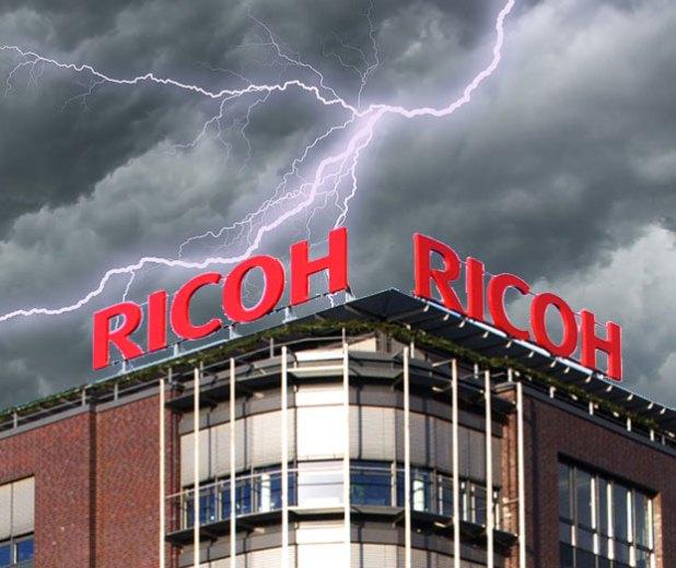 Schlechte Stimmung bei Ricoh