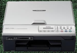 Der erste DCP-Drucker von Brother: Der DCP-110C aus dem Jahr 2005 verwendet die legendäre LC900-Serie