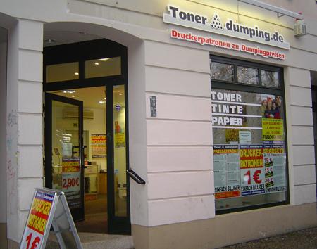 In der Carl-Schurz-Str. eröffnet Tonerdumping seine 5. Filiale im Dezember 2005