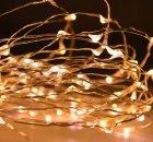 Wie romantisch. LED-Lichterketten für die kalte Jahreszeit.