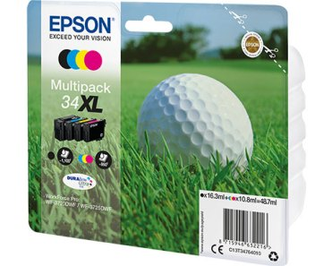 Das Multipack ist 3 Cent teurer als die vier Patronen einzeln bei EPSON kosten würden.