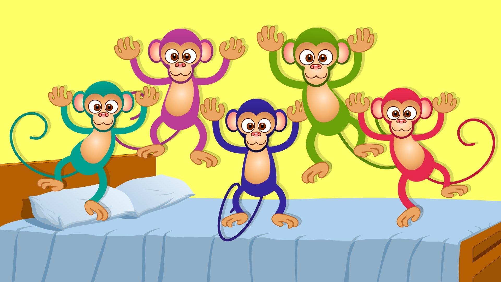Monday Music Amp Movement Five Little Monkeys