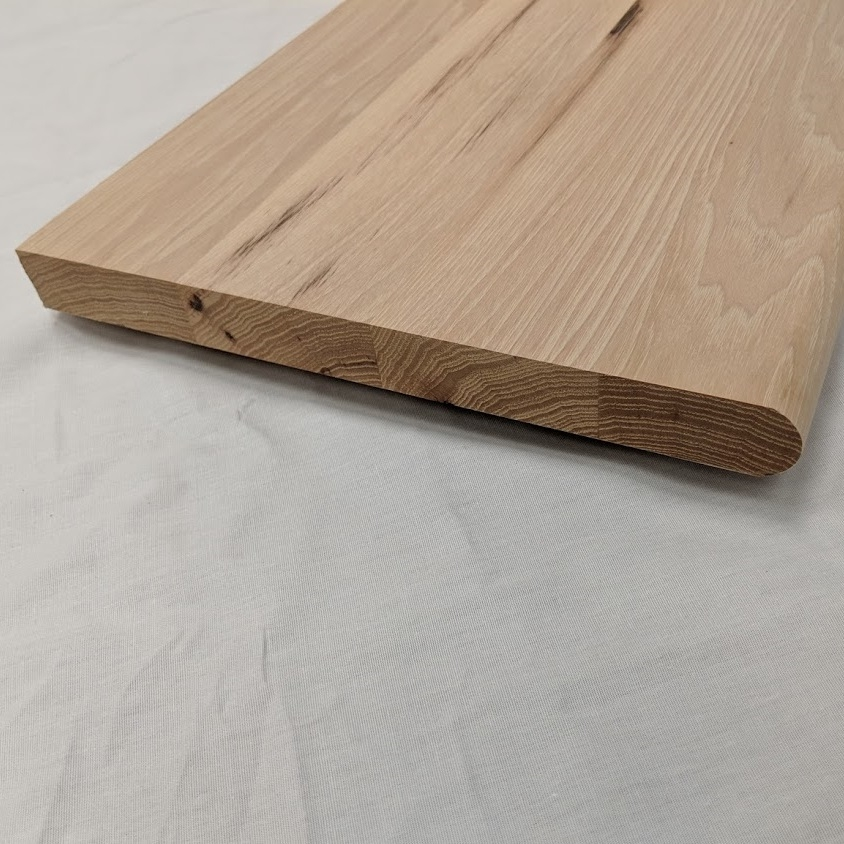 Buy 42 Inch Hickory Stair Treads Online With Next Bus Day   Unfinished Hickory Stair Treads   Stair Nosing   Stairtek   Flooring   Stair Parts   Wood