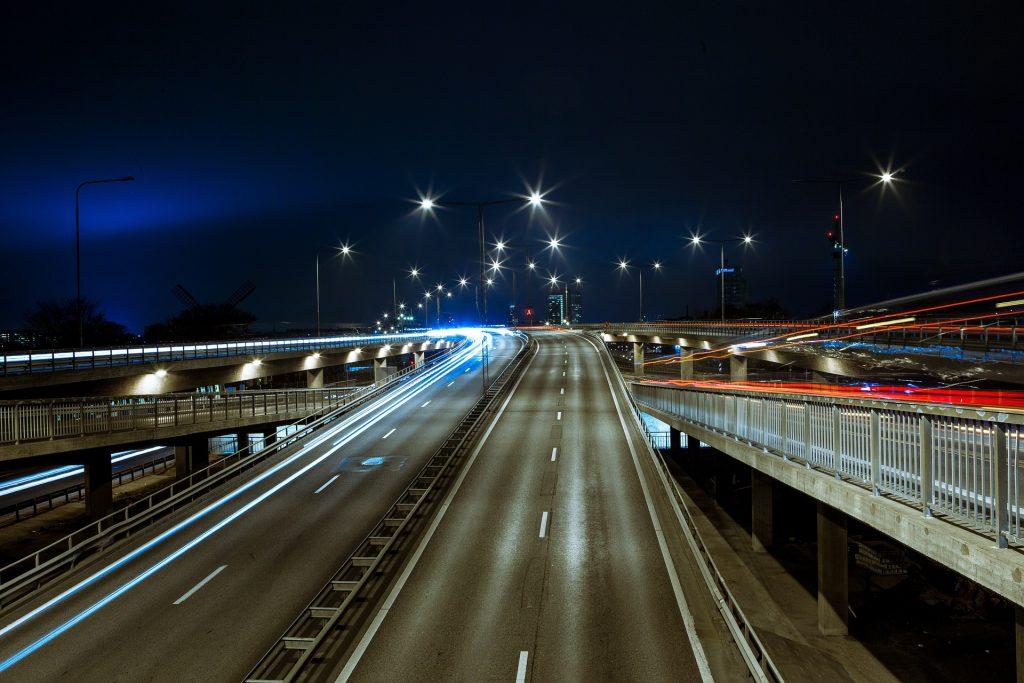 Cornering Light Road