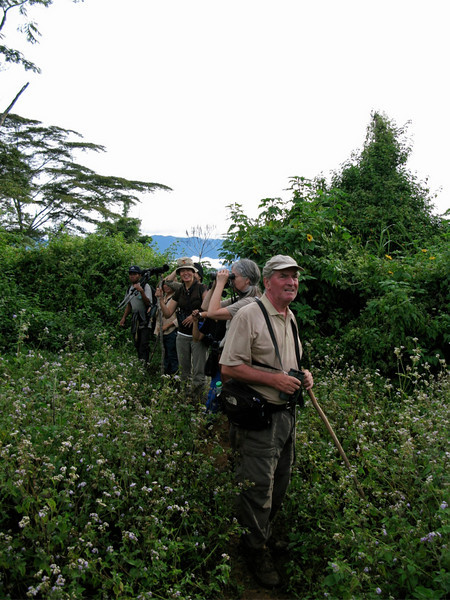 tonjiandsylviasbirdlist.com Tim Fisher in Mt. Kitanglad with WBCP