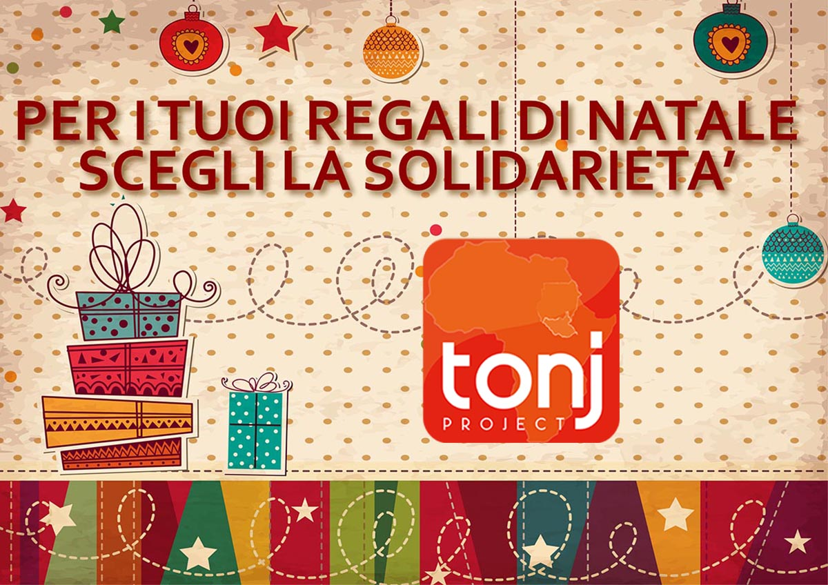 Regali di Natale Tonjproject sud sudan Africa. Dona per aiutare