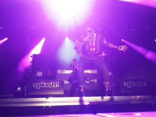 Q-Tip rockin' the splash 16 Stage