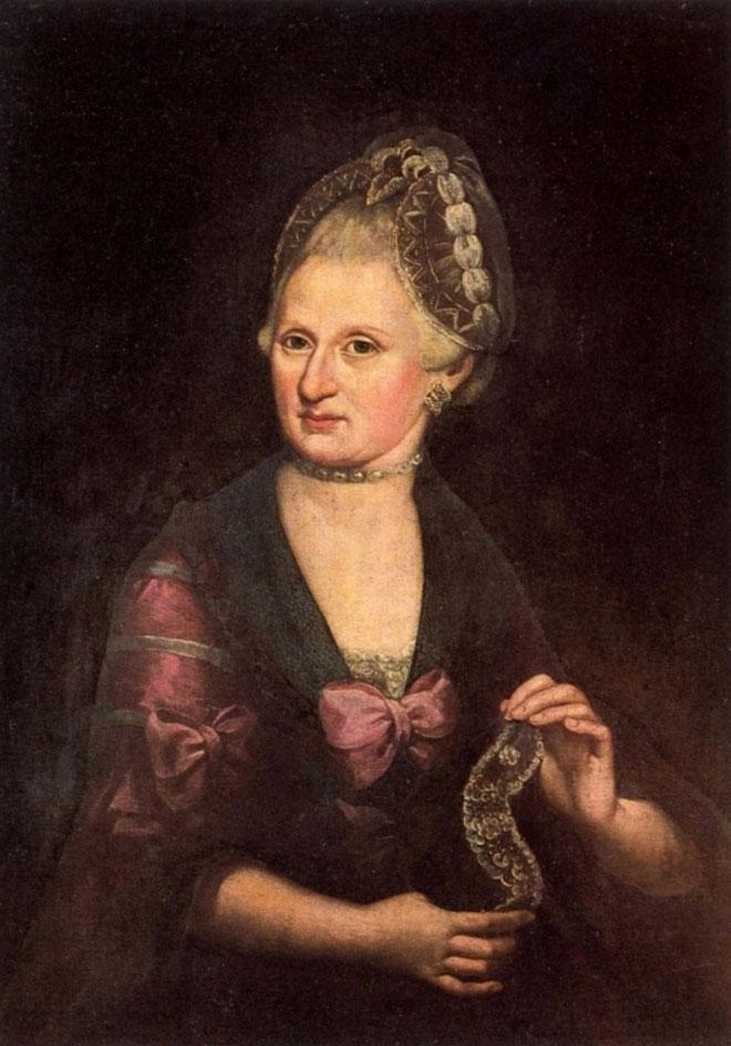 Portrait d'Anna-Maria Pertl, mère de Mozart