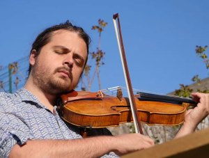 Adrien Boisseau au violon