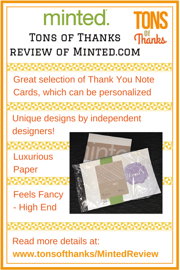 Minted Review