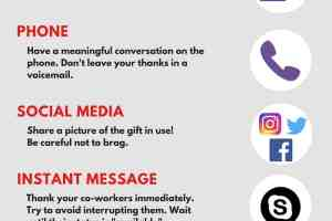 8 Easy Ways to send a thank you note