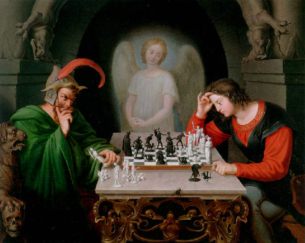 Image result for checkmate painting