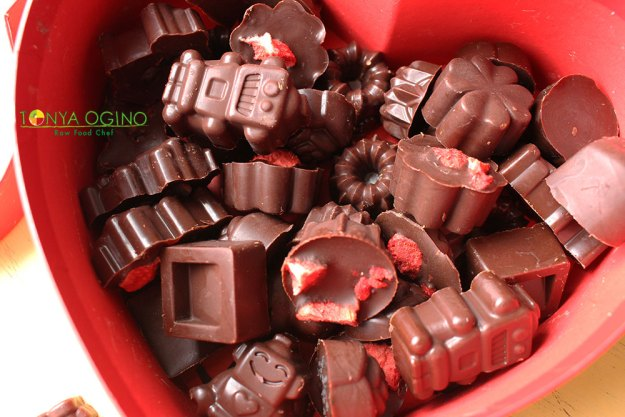 сыроедный шоколад