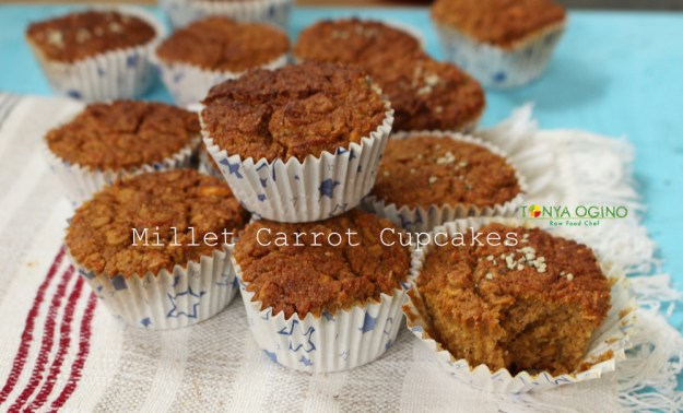 пшенно-морковные кексы