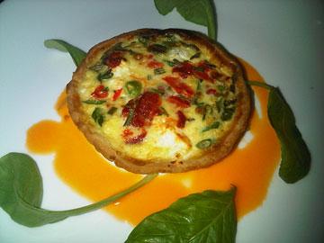 Jamie Kennedy's Vegetarian Tartlet