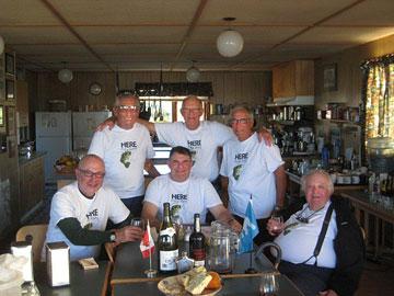 The Boys - Tony, Steve, Sam (standing), Harold, Art and Larry