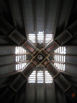 Apex of the Summerhill Pyramid (interior view)