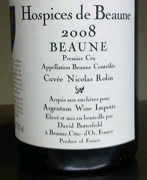 Hospices de Beaune 2008