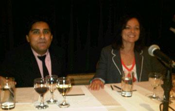 Judges Shinan Govani and Christine Cushing