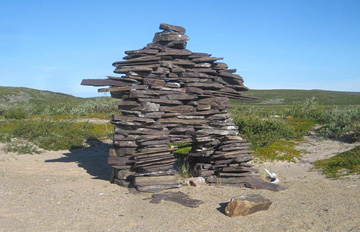 Inukshuk at the Lodge