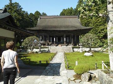 Sanzen-in Temple near our ryokan