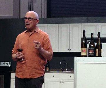 Tony's wine seminar at The Ex